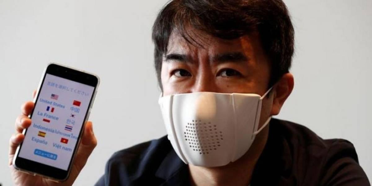 Coronavirus: japoneses crean mascarilla que se sincroniza con tu smartphone