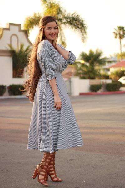 vestidos para cuerpo ovalado