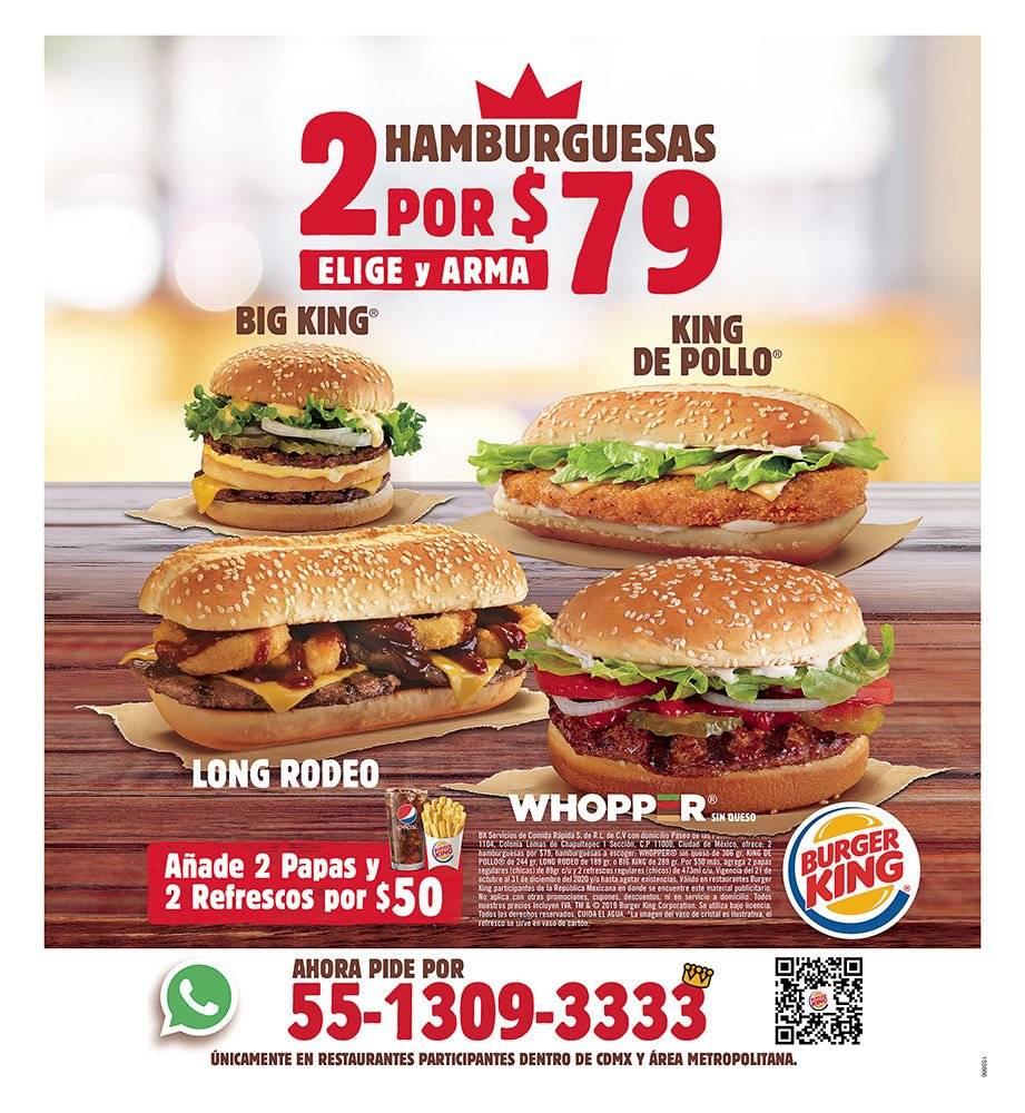 Anuncio Burger King edición CDMX del 29 de Junio del 2020, Página 15