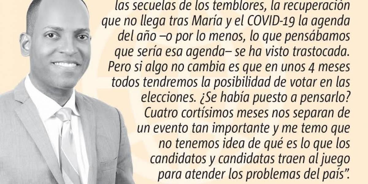 """Opinión de Julio Rivera Saniel: Elecciones en """"mute"""""""