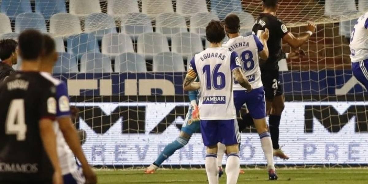 Fútbol/Segunda.- (Crónica) Galán deja al Zaragoza sin coliderato en el último minuto