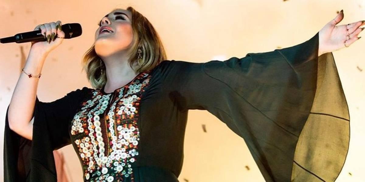 ¿Adele tiene un romance con este rapero?