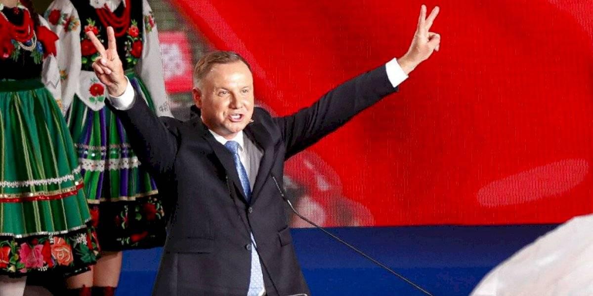 Presidente de Polonia irá a segunda vuelta de las elecciones