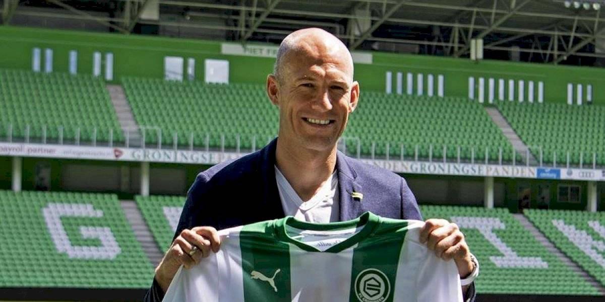 Arjen Robben revela la razón por la que decidió regresar al fútbol profesional