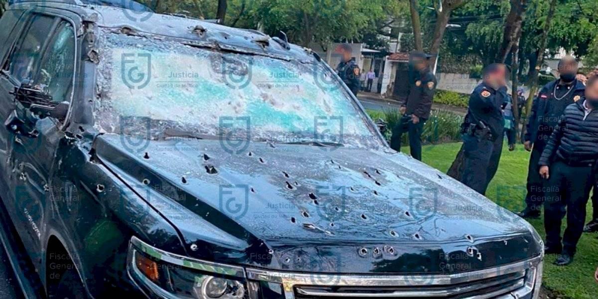 Tres grupos criminales apoyaron al CJNG en el atentado contra García Harfuch