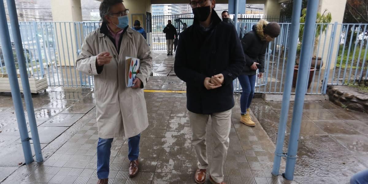 Lavín se reúne con ministro de Educación para echar a andar nuevo colegio gratuito en Las Condes