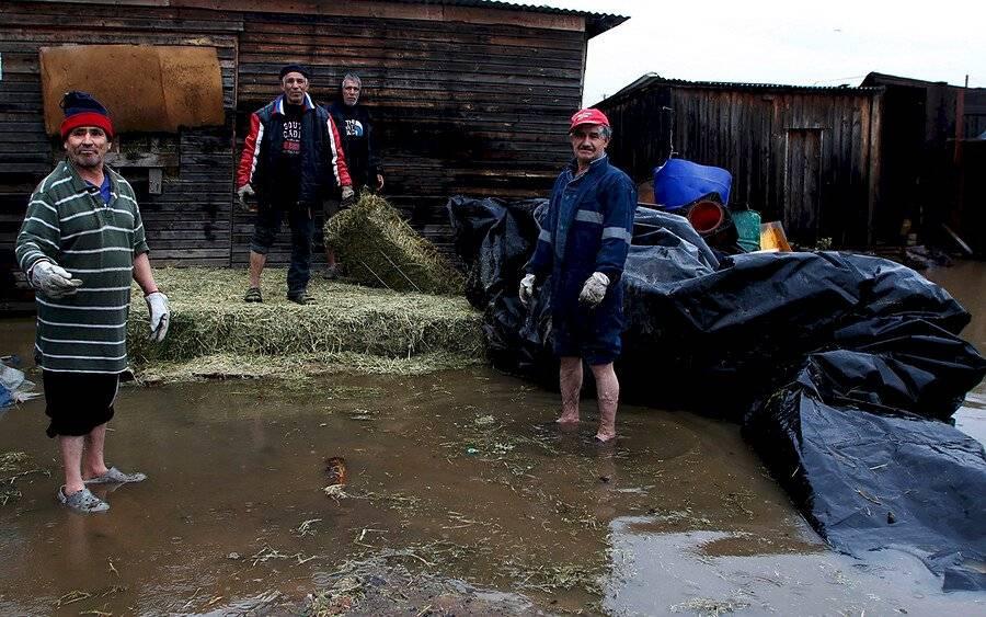 Inundaciones en Talca / Foto: Aton Chile