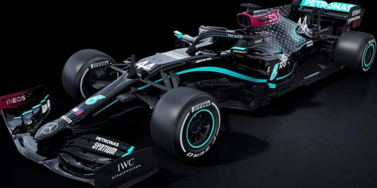"""Desaparecen los """"flecha de plata"""": Mercedes usará autos negros en Fórmula Uno 2020 por la lucha contra el racismo"""