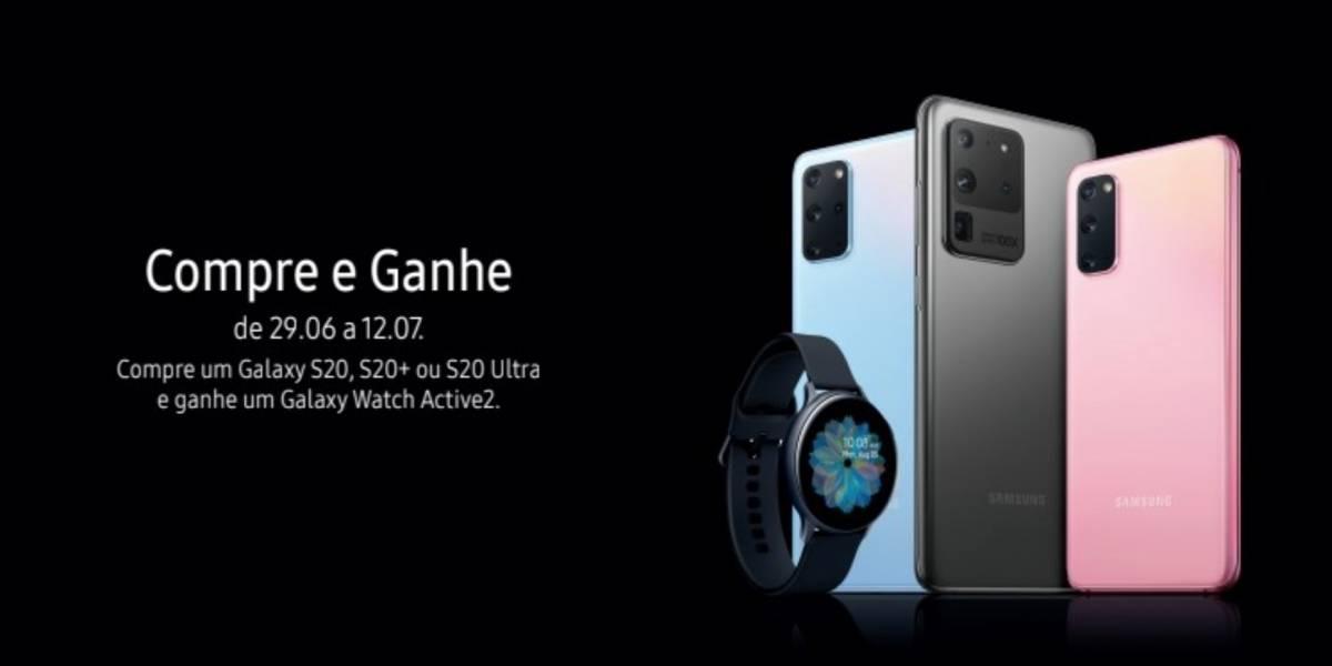 Tecnologia: Samsung anuncia oferta especial para a linha Galaxy S20