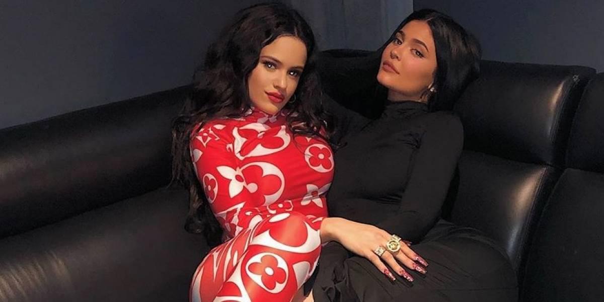 Así corrió y jugueteó Rosalía con sus amigas Kardashians en el cumpleaños de Khloé Kardashian