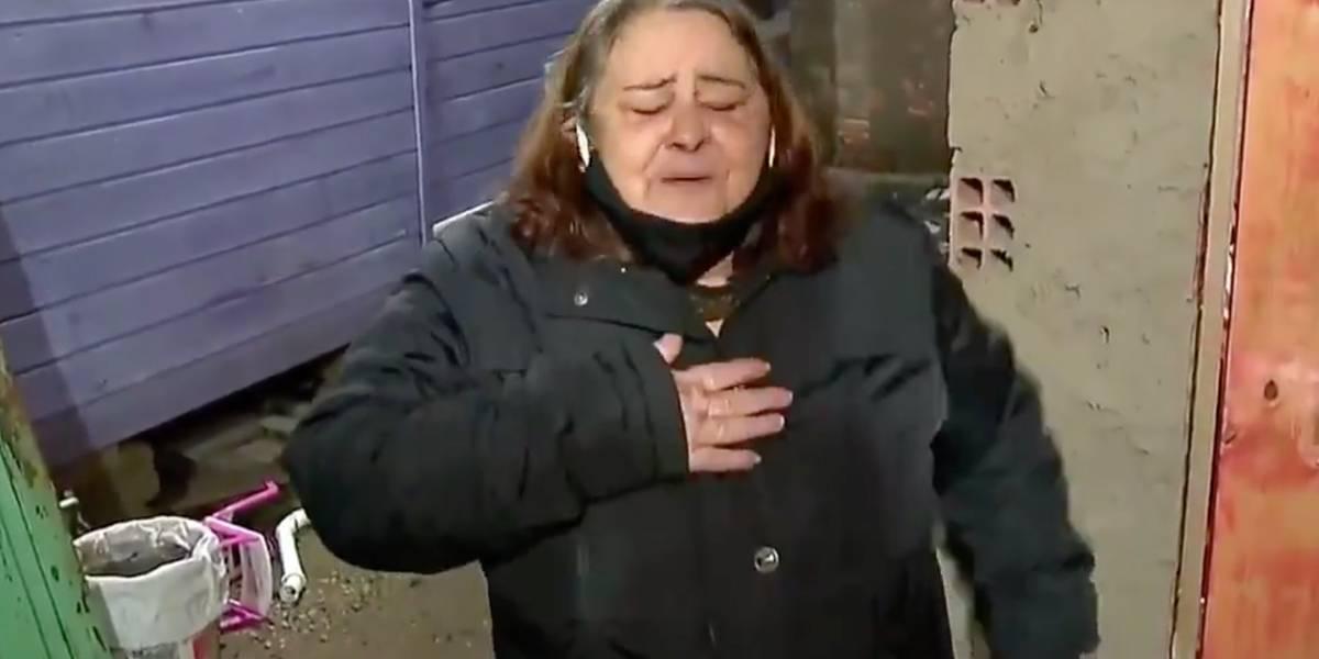 Desaparecido surpreende família ao surgir durante entrevista para a TV sobre seu caso