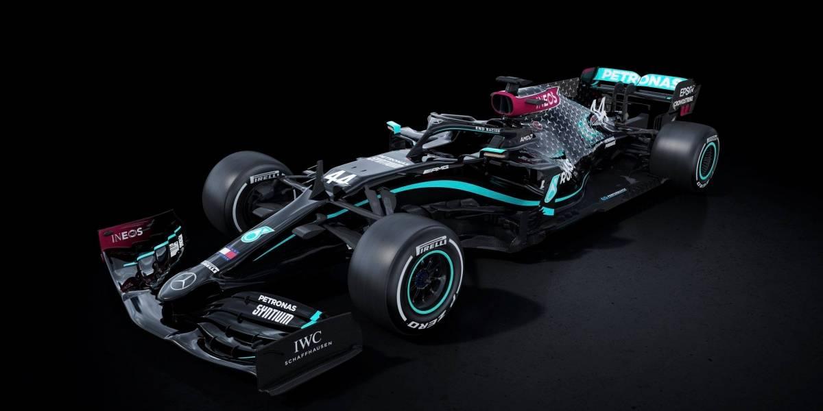 Mercedes-AMG Petronas F1 en contra del racismo y la discriminación
