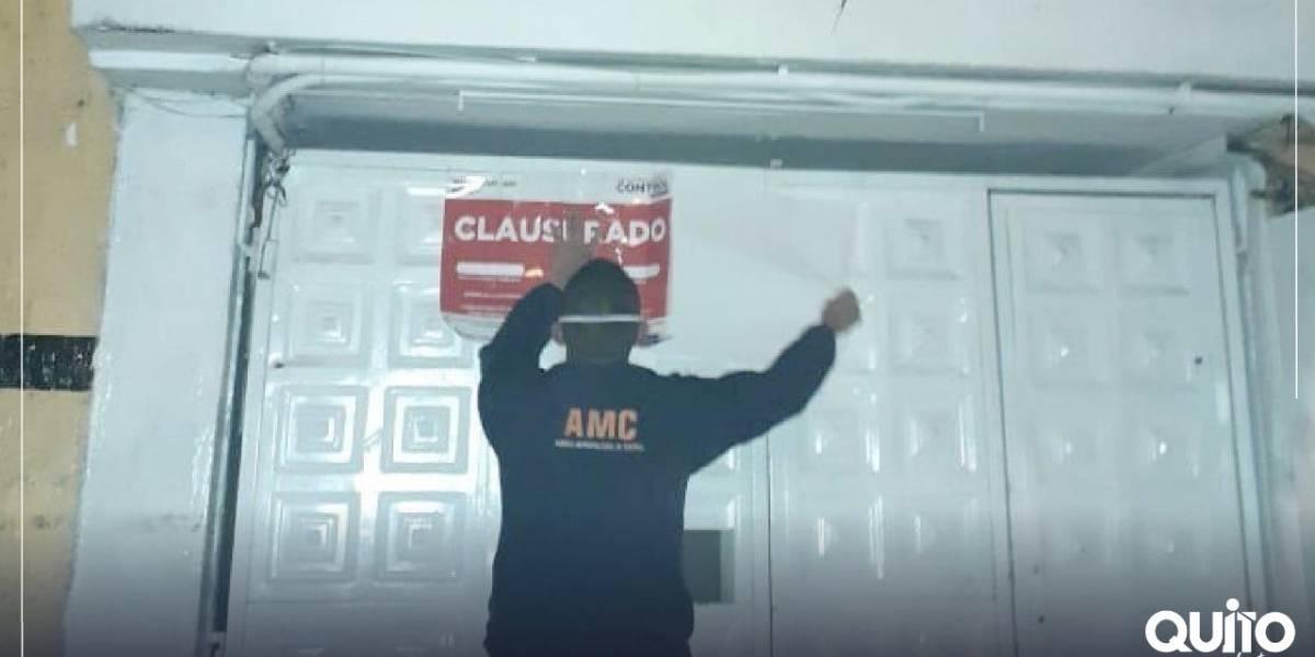 Quito: Clausuran night club clandestino que funcionaba en instalaciones de otro negocio