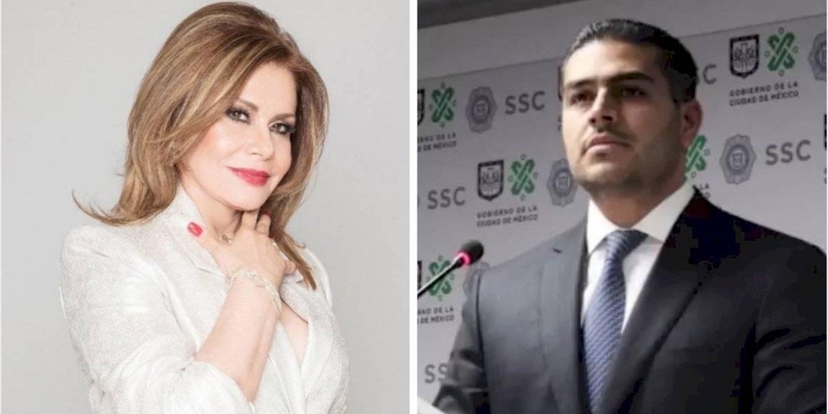 María Sorté agradece oraciones a su hijo, Omar García Harfuch