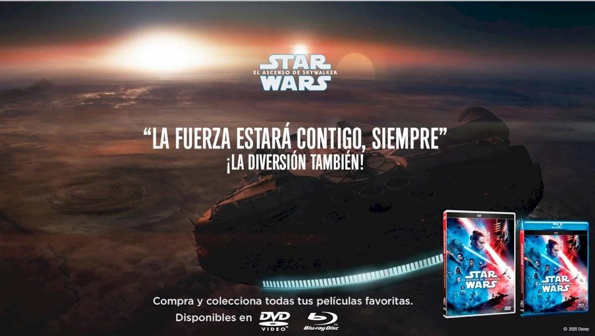 Star Wars, el ascenso de Skywalker,