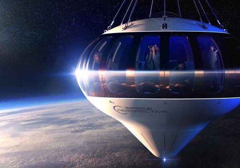 Viaja al espacio con Space Perspective