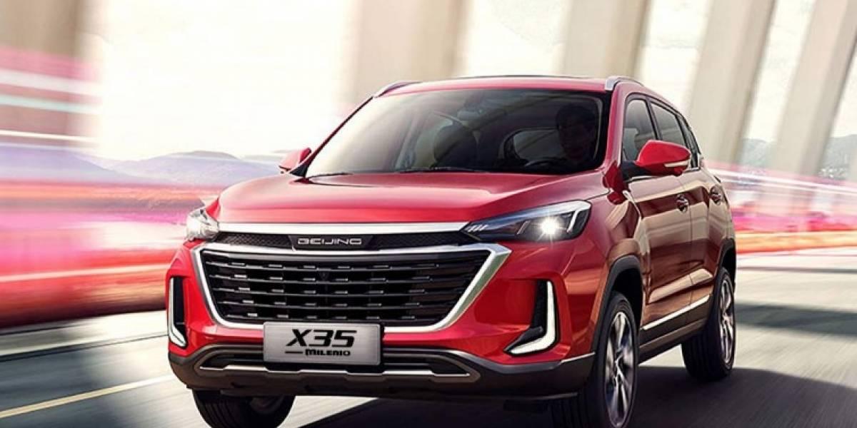 X35 de BAIC: elegancia y seguridad en un auto de lujo
