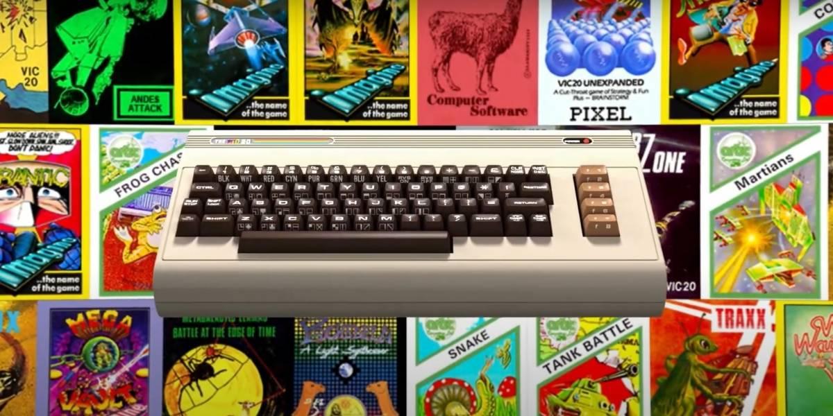 Portaltic.-Retro Games recupera el ordenador VIC-20 de 1981 con 64 juegos preinstalados