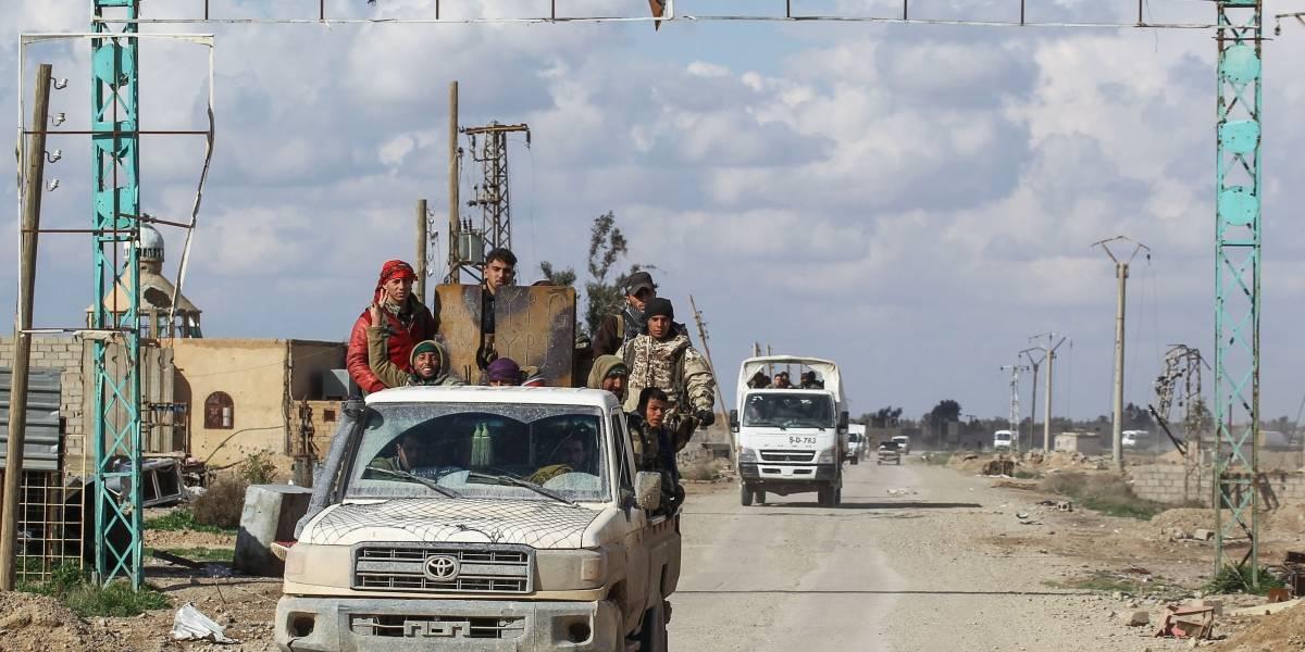 Siria.- Presos de Estado Islámico protagonizan un motín en una cárcel controlada por las fuerzas kurdas en Siria