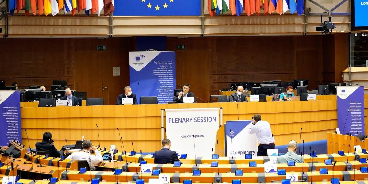 """UE.- Las regiones de la UE apuntan a un """"considerable margen"""" de mejora para responder a emergencias como la Covid"""