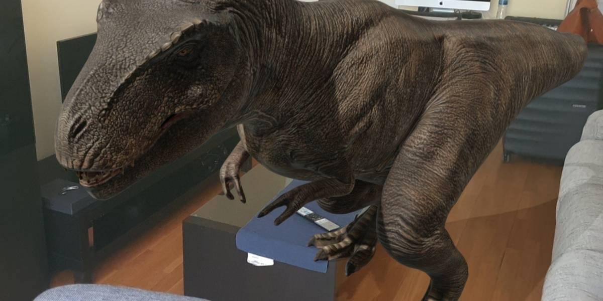 Portaltic.-Google ya permite ver 10 especies de dinosaurios mediante realidad aumentada