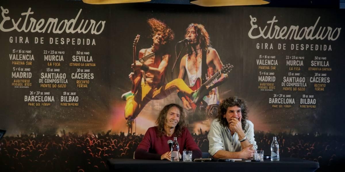 Cultura.- Extremoduro amenaza con denunciar a Live Nation si no devuelve el dinero de las entradas de su gira