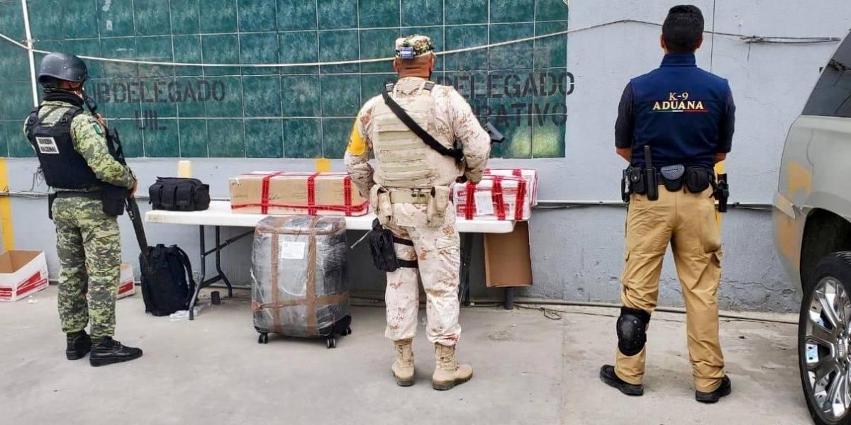 Aduana decomisa en Tijuana casi 3 millones de dólares en efectivo