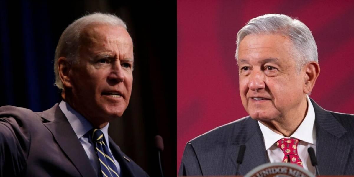 """Rechaza López Obrador reunirse con Biden, """"no sería correcto"""""""