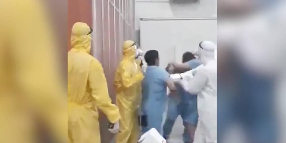 Casi se agarran a golpes en una residencia sanitaria en Argentina: trataron de linchar a un joven por robar un celular