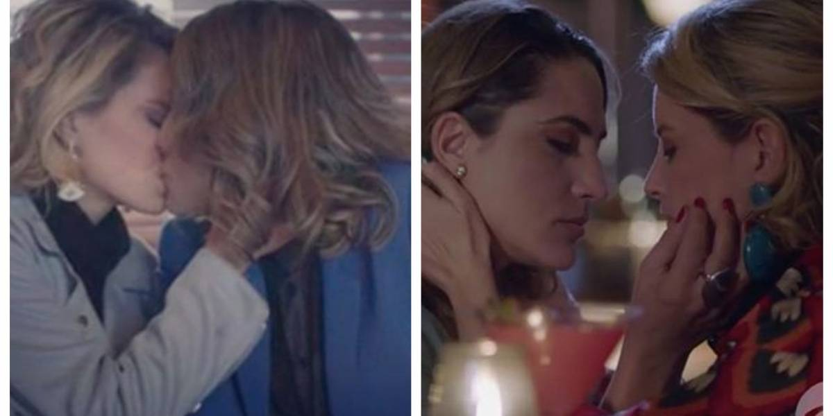 Actriz de 'La venganza de Analía' se desnuda luego de protagonizar beso con otra famosa