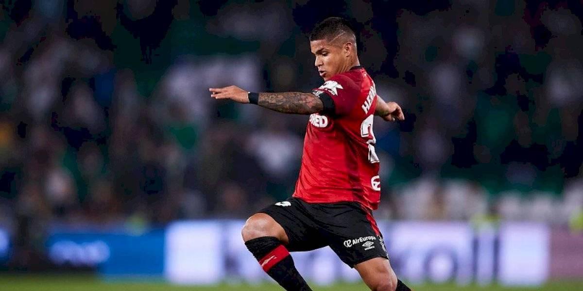 Cucho Hernández se marcó un golazo para mantener con esperanzas al Mallorca