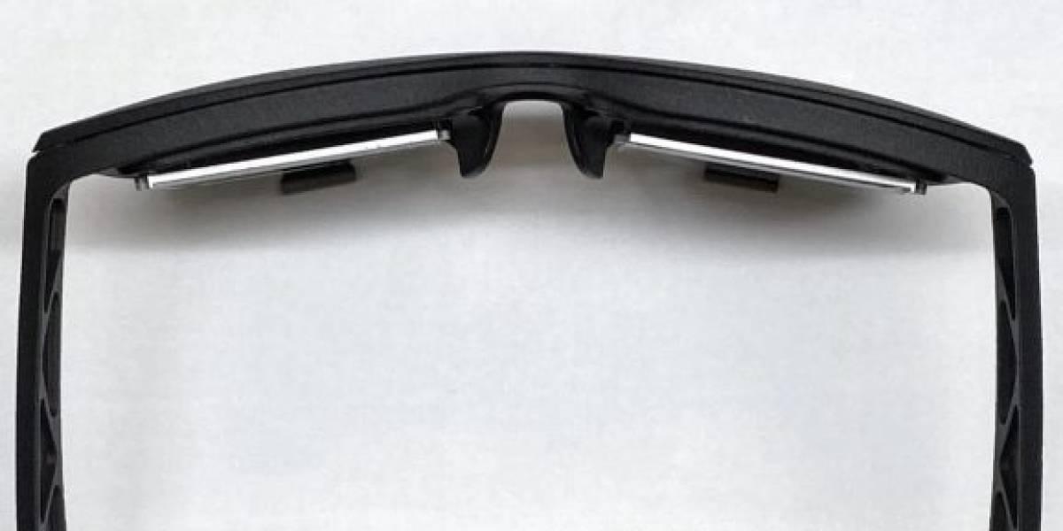 Facebook y su prototipo de sus auriculares de realidad virtual con estilo de gafas cuadradas
