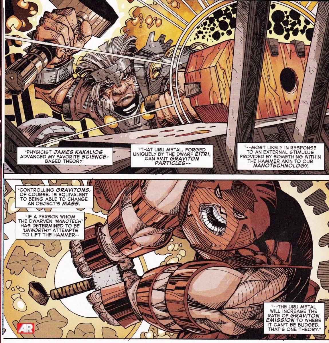 Thor Mjölnir Marvel
