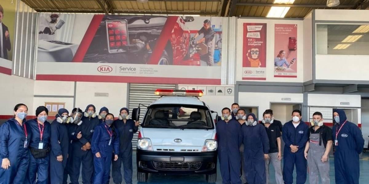 """Kia """"revive"""" la única ambulancia en Cojimíes"""