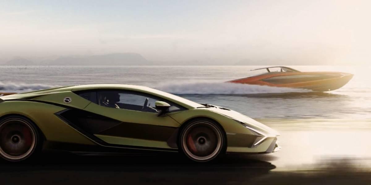 Lamborghini Sián FKP 37 es el yate más potente de la firma automotriz