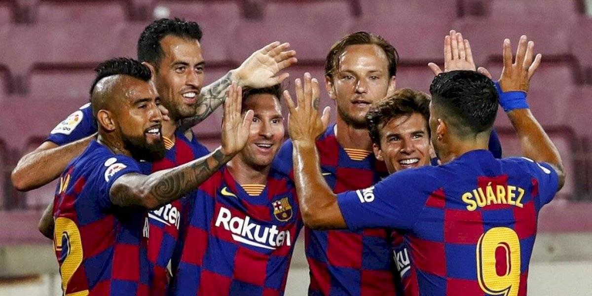 Lionel Messi anota su gol 700 con el Barcelona y la selección argentina