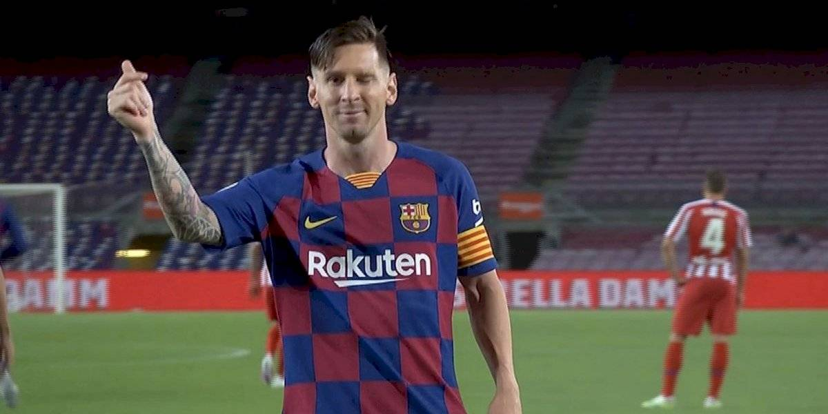 ¡A lo Panenka! Messi alcanza los 700 goles en su carrera