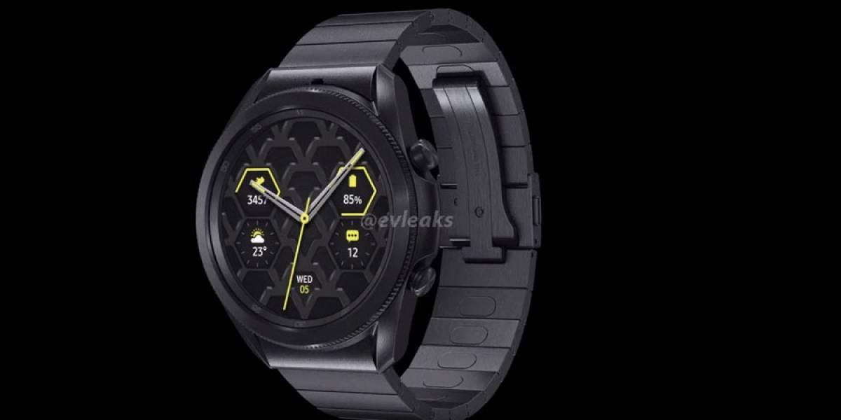 Samsung Galaxy Watch3 se filtra en glorioso video de 360 grados