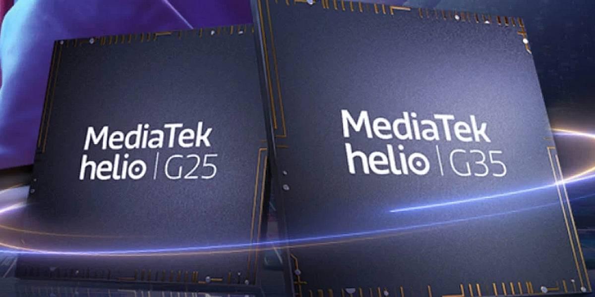 MediaTek lanza dos nuevos procesadores baratos de gaming móvil: Helio G35 y G25