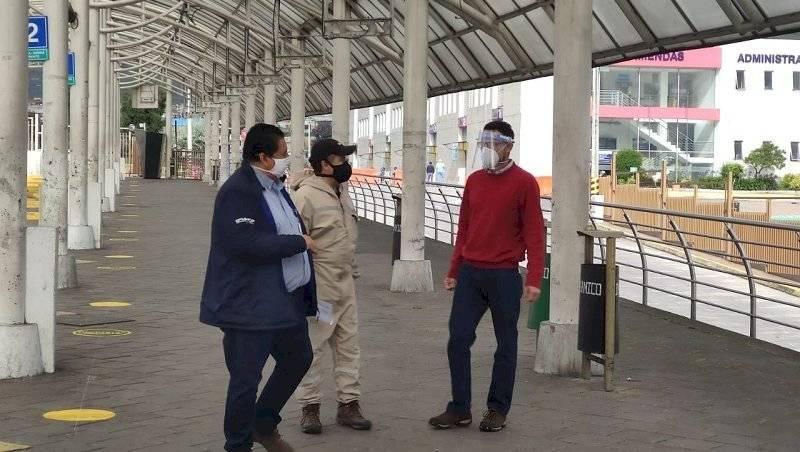 Terminales interprovinciales de Quitumbe y Carcelén listas para reiniciar sus operaciones