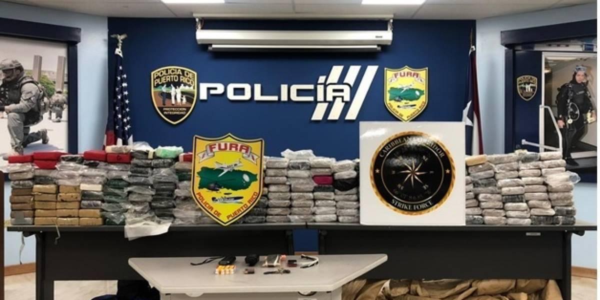 Policía incauta millonario cargamento de cocaína
