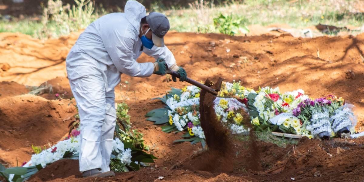 Coronavirus.- Brasil se acerca a las 60.000 muertes tras registrar casi 1.300 en el último día