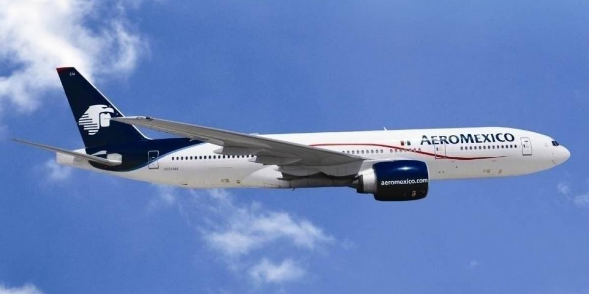 Economía.- Las acciones de Aeroméxico se desploman un 35% tras el anuncio de bancarrota