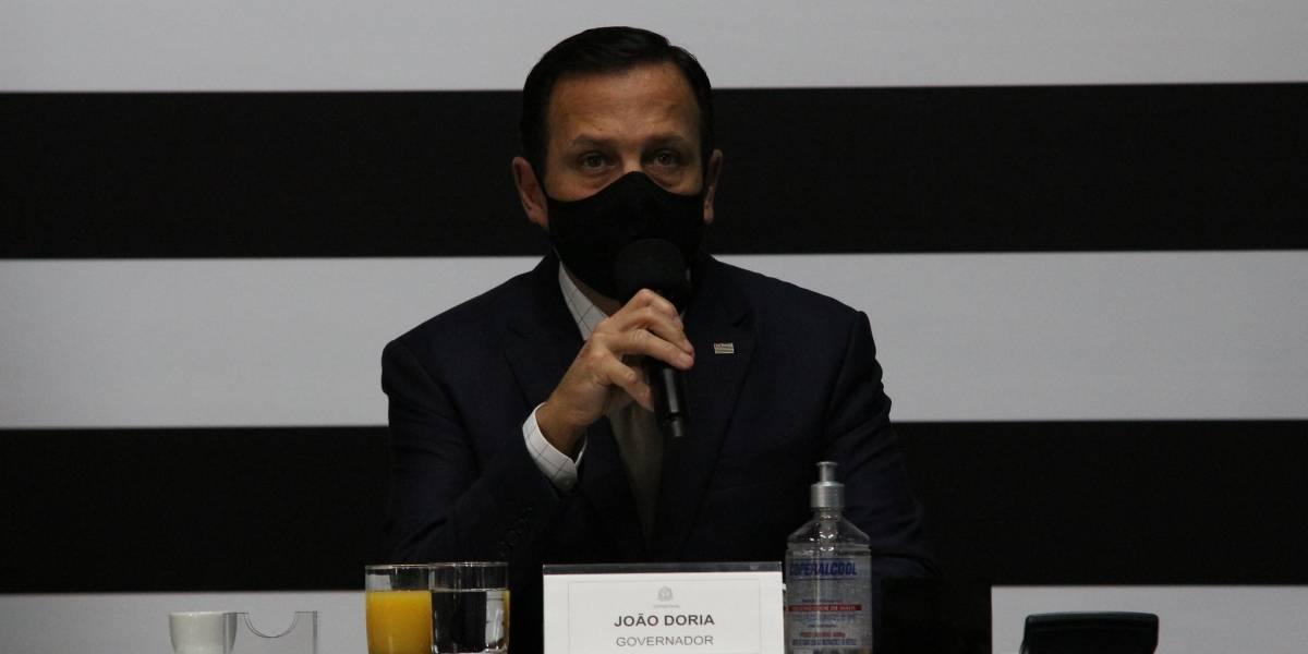 Com 100 dias de quarentena, Doria afirma que pandemia em SP está próxima da estabilidade