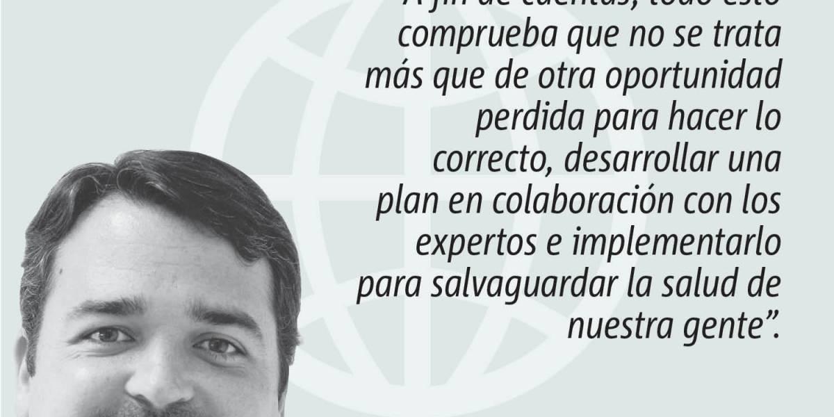 Opinión de Alejandro J. Figueroa: Discurso para las gradas