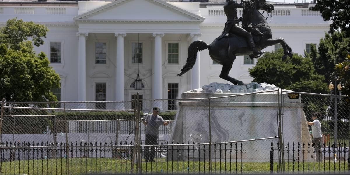 Agencia federal que combate terrorismo protegerá estatuas en Estados Unidos