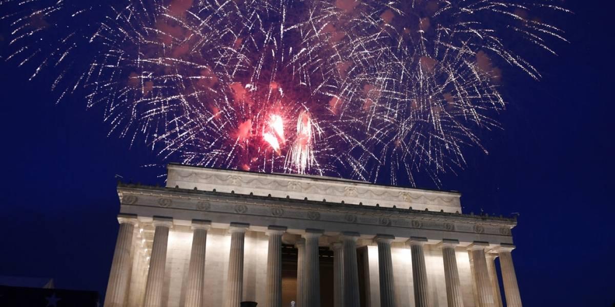 Donald Trump quiere un gran espectáculo de fuegos artificiales para el 4 de julio