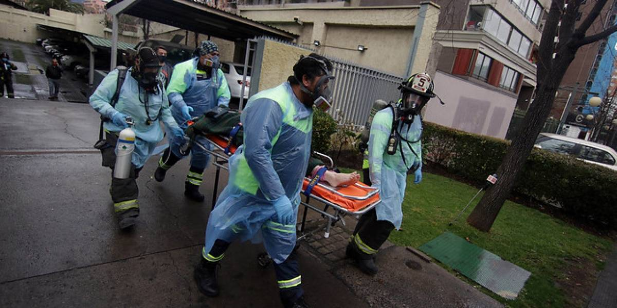 Casi tragedia: Dos adultos mayores y un tercero fueron encontrados intoxicados con monóxido carbono en Ñuñoa