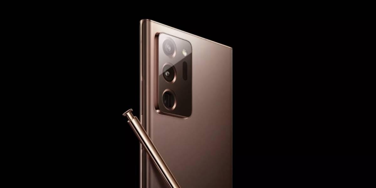 Sitio oficial de Samsung deja ver el Galaxy Note20 Plus y se acaban las sorpresas