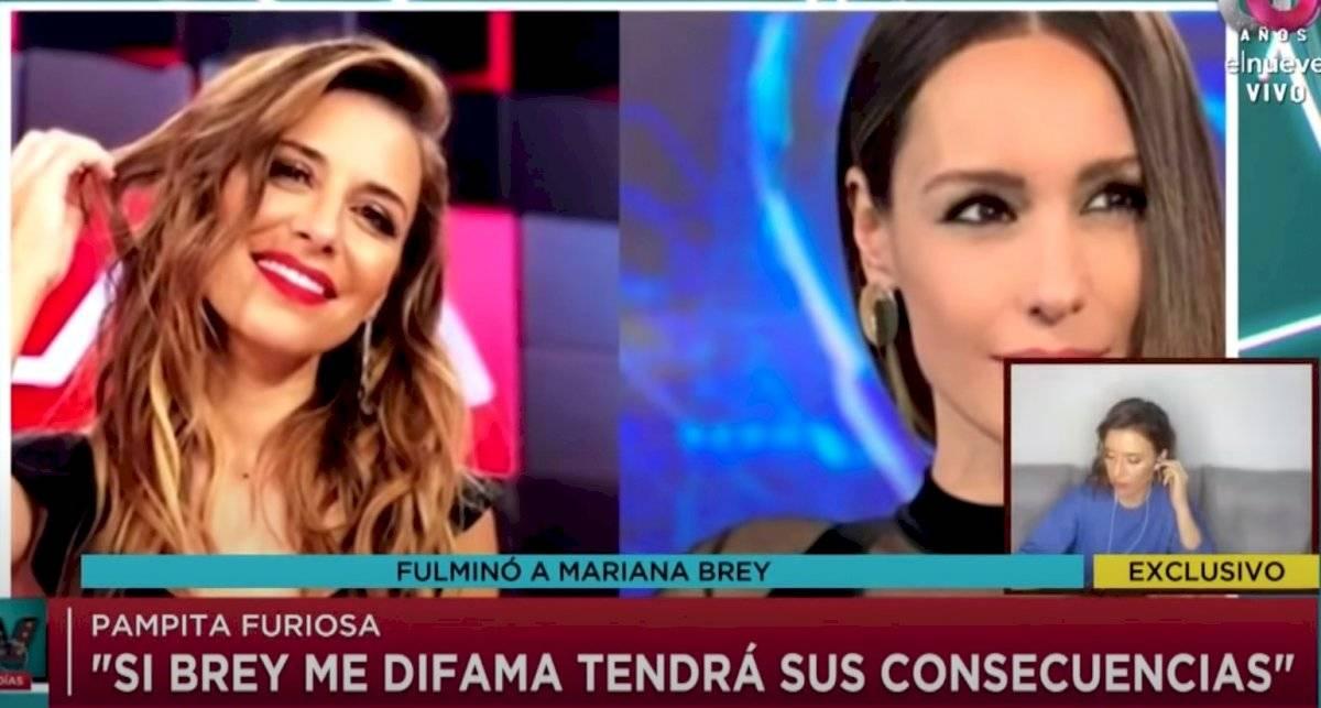 Pampita y Mariana Brey